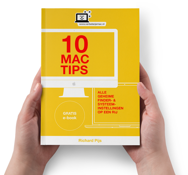 gratis e-book 10 Mac tips - Alle geheime Finder- & Systeeminstellingen op een rij