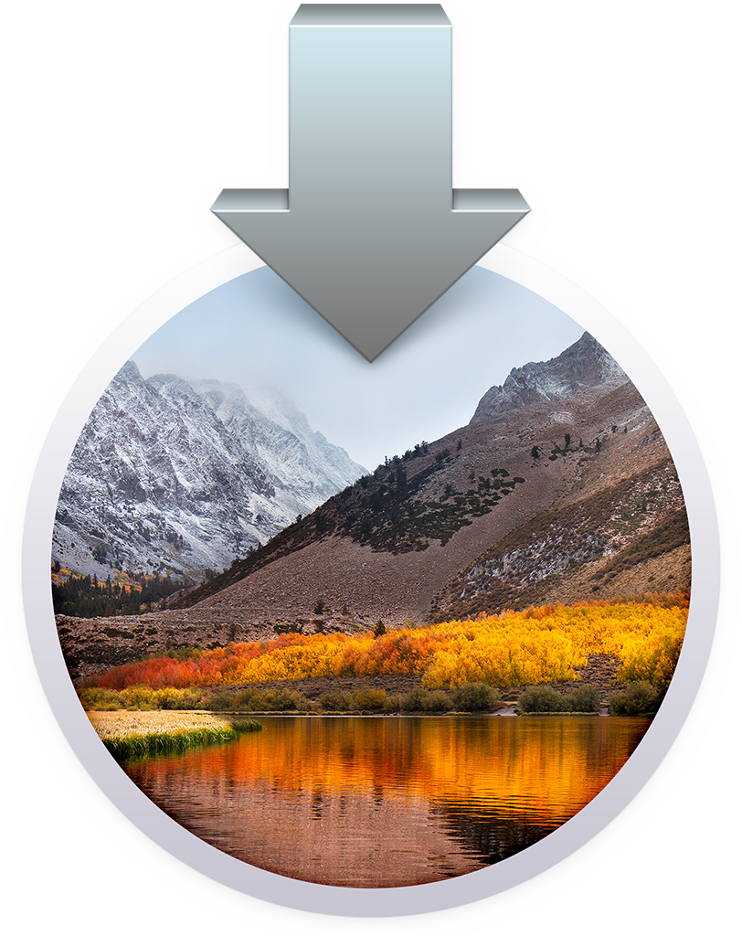 updaten macOS High Sierra installer